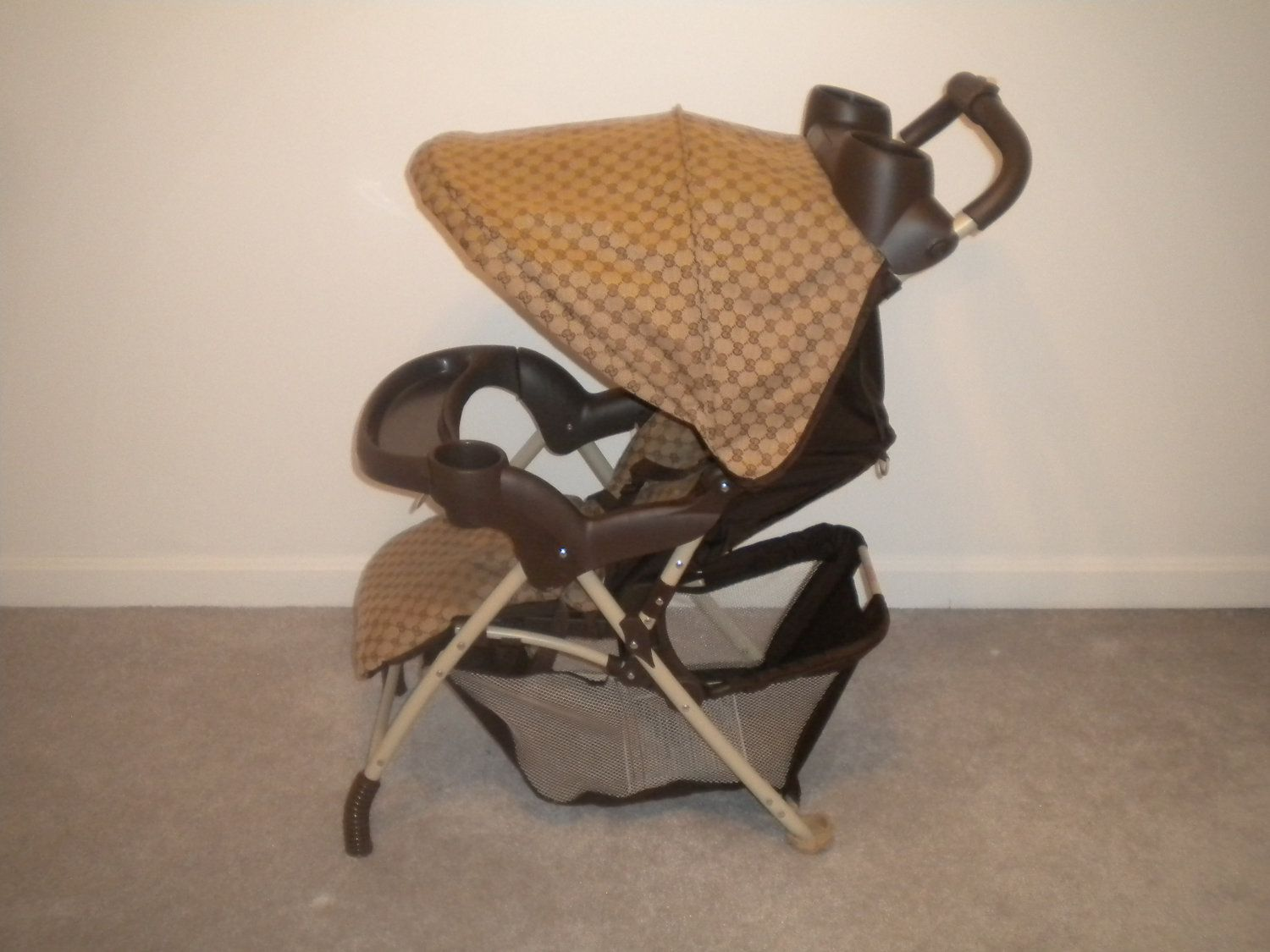 Gucci Baby Stroller By Diamondcouture On Etsy 35000 Dr Brownamp039s Zebra Lovey With Pink One Piece Pacifier Dot Bayi