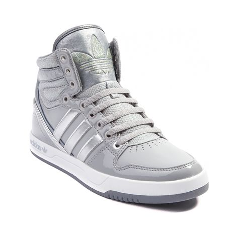Shop for Womens adidas Court Attitude Athletic Shoe in Aluminum at ...