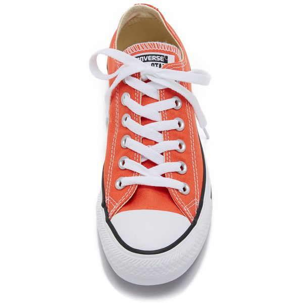 Converse Chuck Taylor All Star Sneakers (475 NOK) ❤ liked on Polyvore featuring shoes, sneakers, converse footwear, lacing sneakers, converse sneakers, laced shoes and low profile shoes