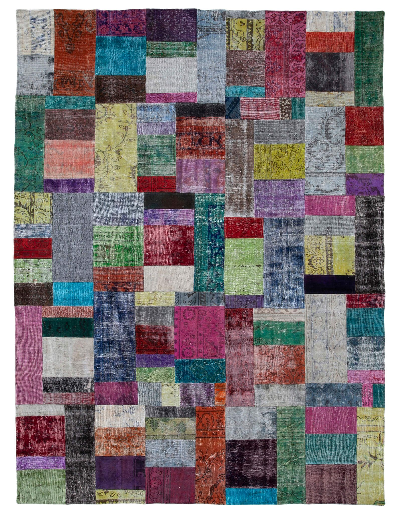 Patchwork Rug 10196 Rugs