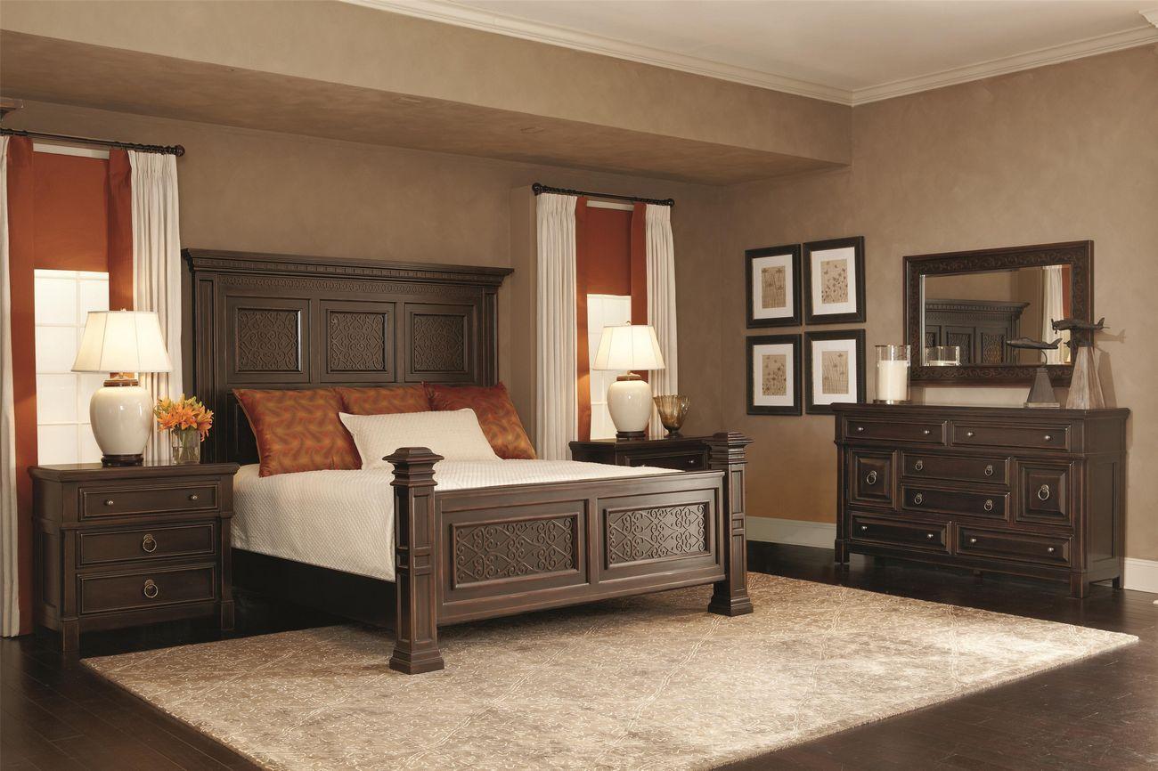 Bernhardt - Pacific Canyon Queen Panel Bedroom Set   Bernhardt ...