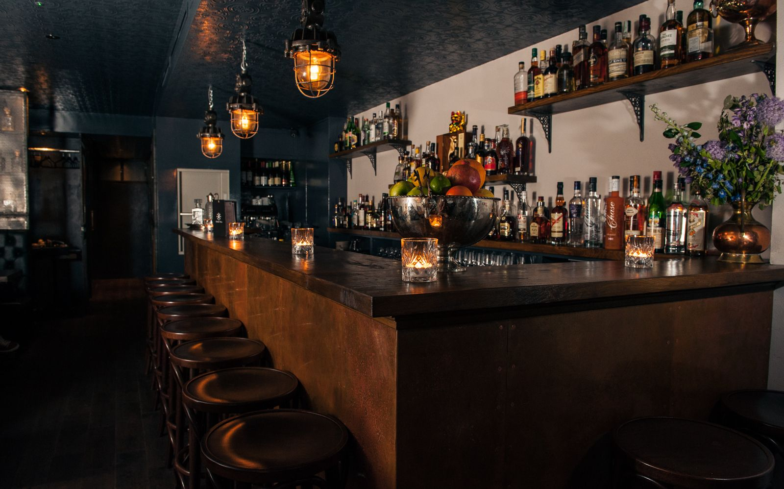 East London's first & only a Rum Bar, with killer cocktails, housed in a plush basement, lit by candlelight & set to a backtrack of rock 'n' roll