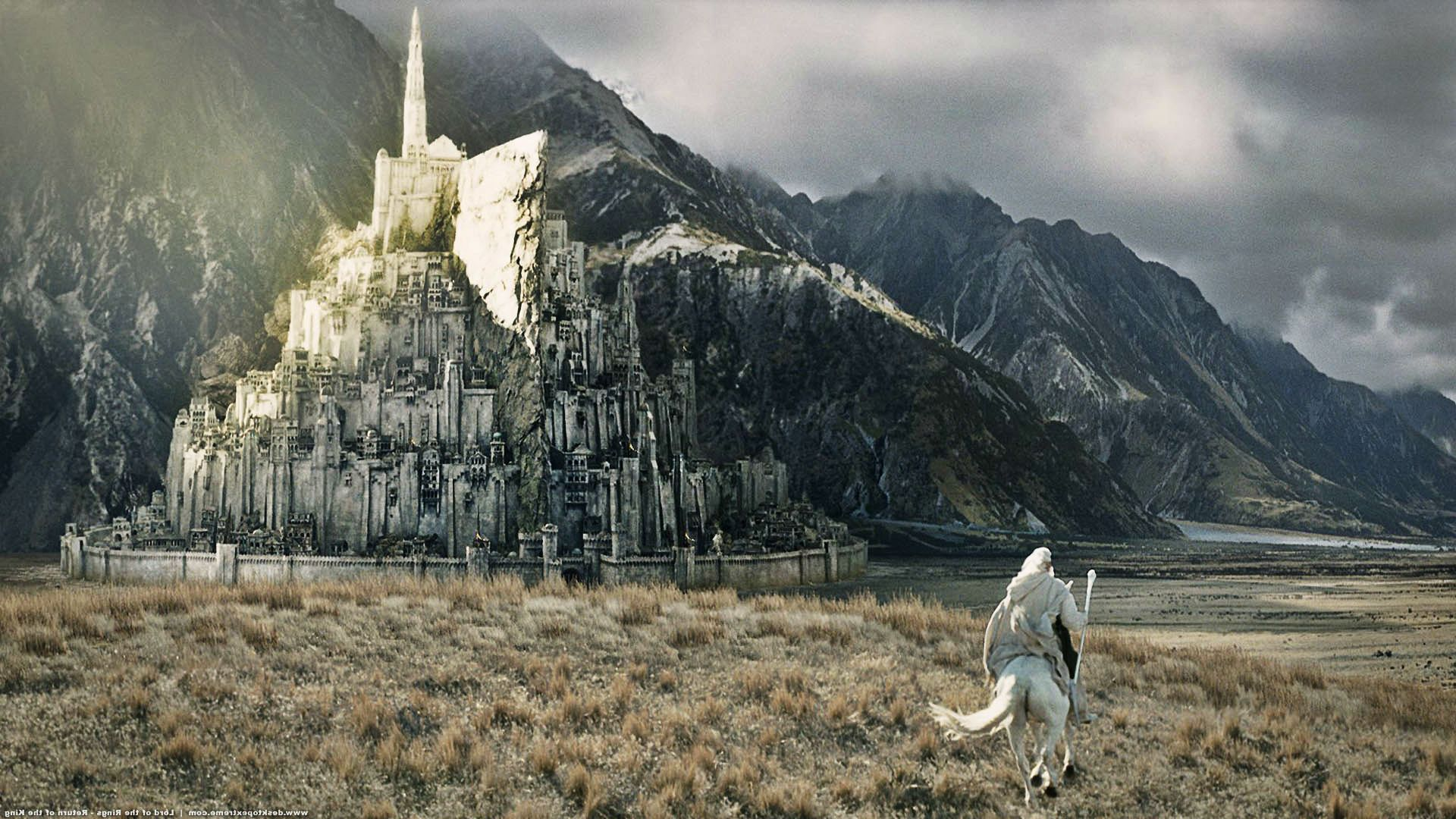 The Lord Of The Rings Hd Wallpapers And Backgrounds Minas Tirith Lord Of The Rings Lord