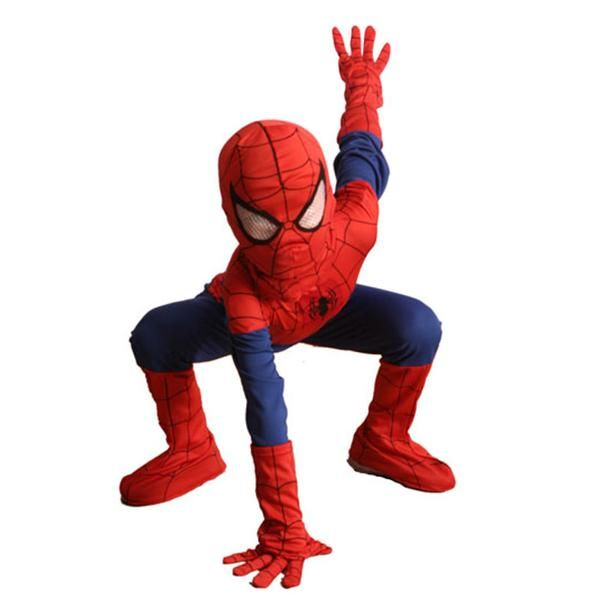 Complete Child Boy Marvel Classic Ultimate Spiderman Halloween Superhero Costume  sc 1 st  Pinterest : kids spiderman costumes  - Germanpascual.Com