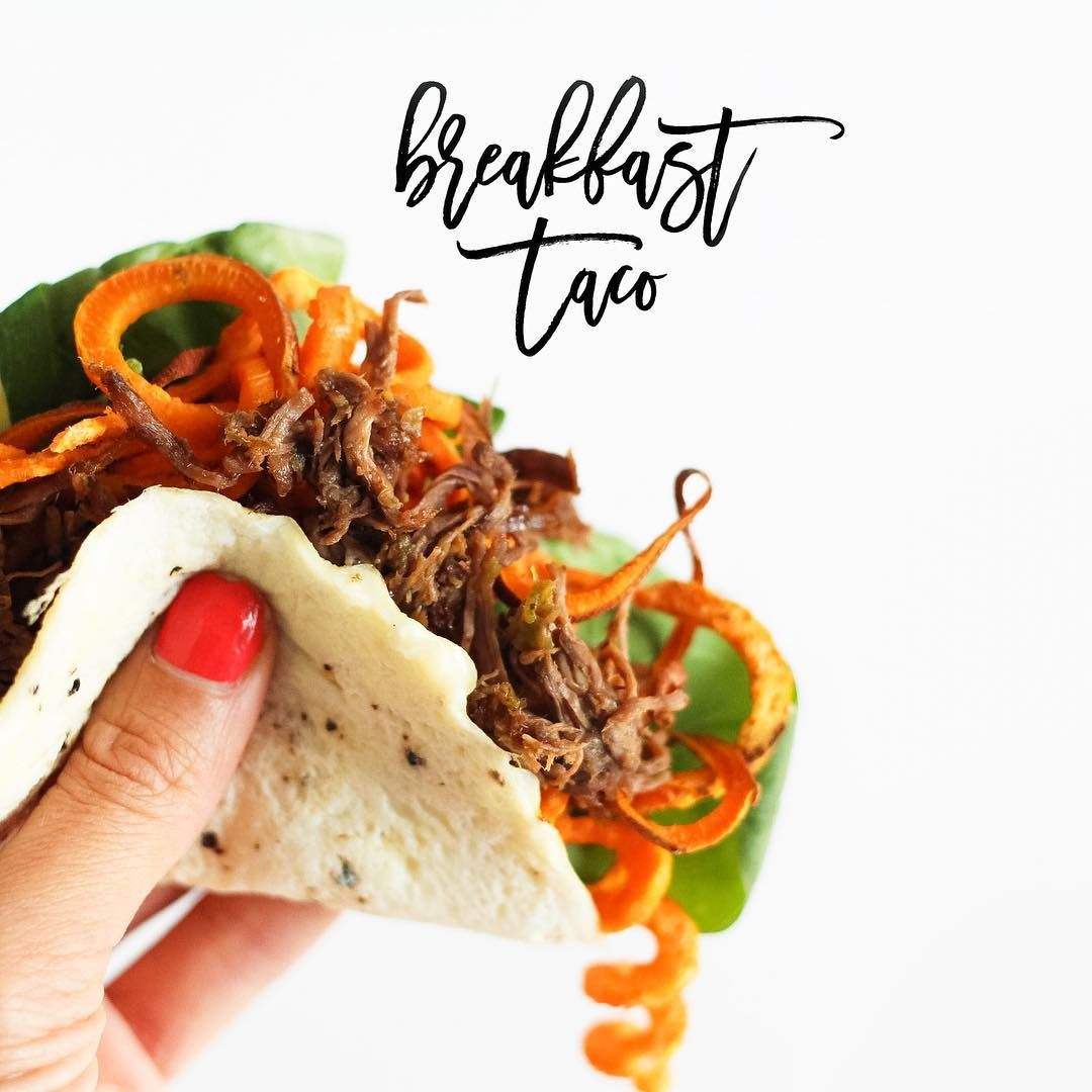 Leftover Mexican Salsa Shredded Beef For Breakfast In An Egg Quot Taco Quot Natalie Here From
