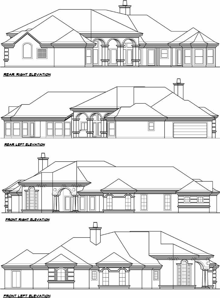 Mediterranean House Plan 3 Bedrooms 3 Bath 5108 Sq Ft Plan 63 187 Mediterranean House Plans Mediterranean House Plan House Plans