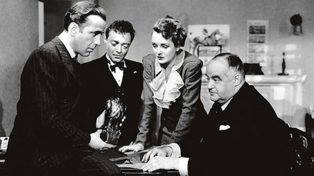 13 Mysterious Facts About The Maltese Falcon In 2020 Classic Films Posters Maltese Falcon Movie Real Movies