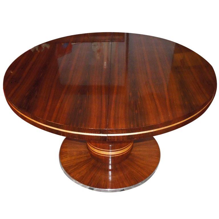 ArtDeco Dining Table Vintage dining room