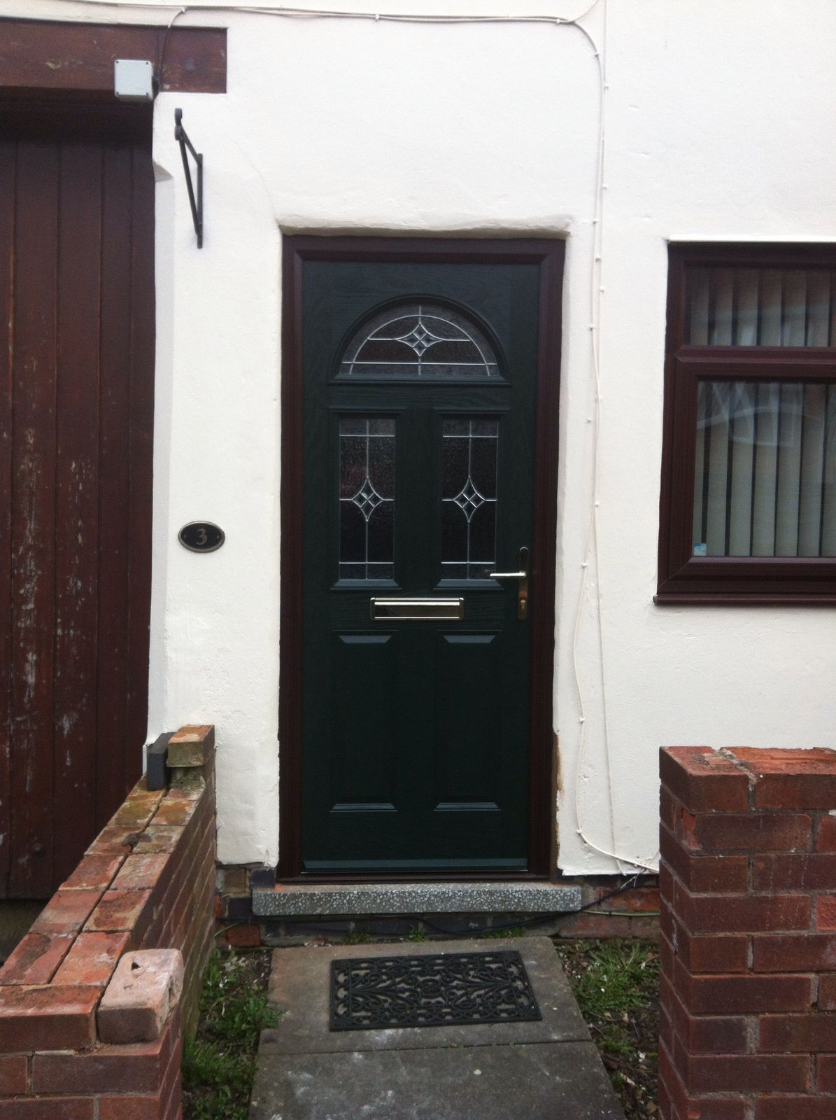 The Nottingham Window Company supply and fit high quality double glazing Windows Doors Conservatories Porches and Orangeries in Nottingham. & A Classic Green +Door Stop International Composite Door With Zinc ... pezcame.com