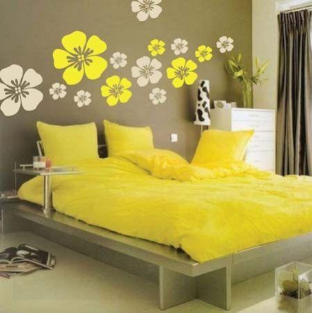 Flower Wall Art Design   Cool Wall Decals   Pinterest   Wall art ...