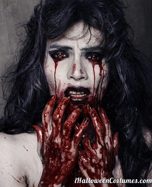 blood everywhere halloween makeup halloween costumes 2013 - Blood For Halloween