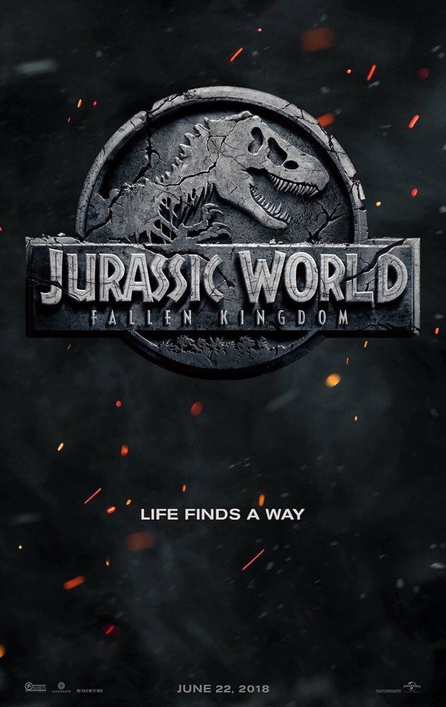 Jurassic World Fallen Kingdom How The New Poster Compares To Its