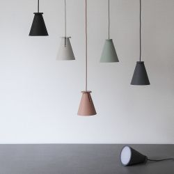 Menu Bollard L& by Shane Schneck | Scandinavian designed flexible pendant lighting | MenuDesignShop.com & Menu Bollard Lamp by Shane Schneck | Scandinavian designed flexible ...