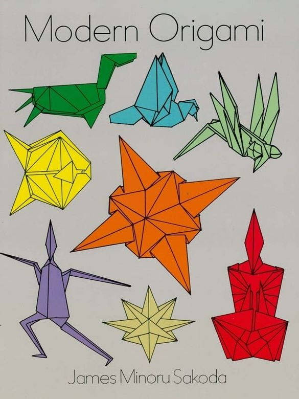 Modern Origami By Dr James Minoru Sakoda Clear Instructions Diagrams Drawings And