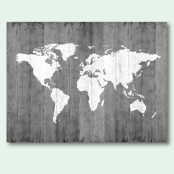 Map of the world map poster download gray world map wood texture map of the world map poster download gray world map wood texture printable large size wall gumiabroncs Images