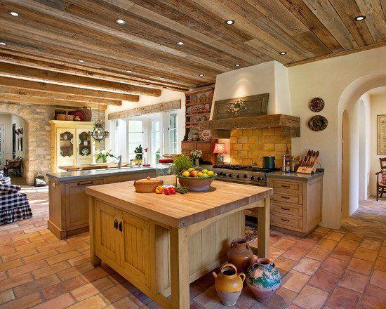 Cocinas r sticas cocinas r sticas r stico y cocinas for Decoracion pisos acogedores