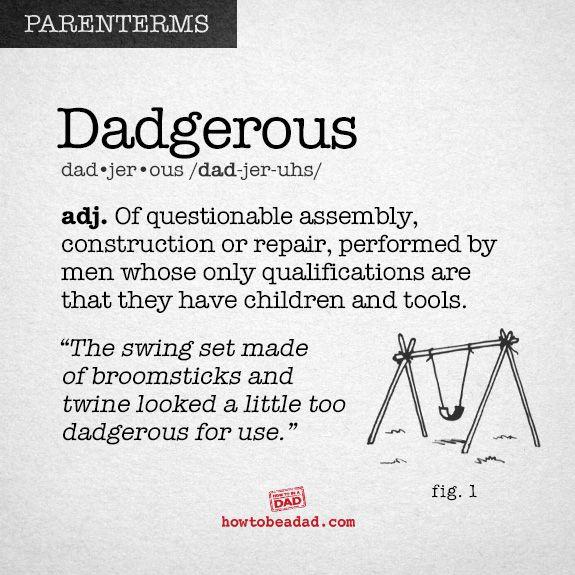 Parenterms Dadgerous