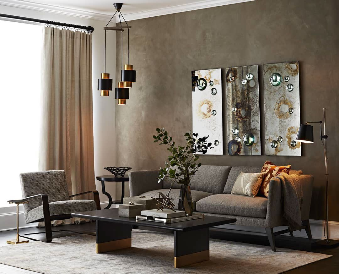 contemporary interior setting featuring unique art glass mirrors rh pinterest com