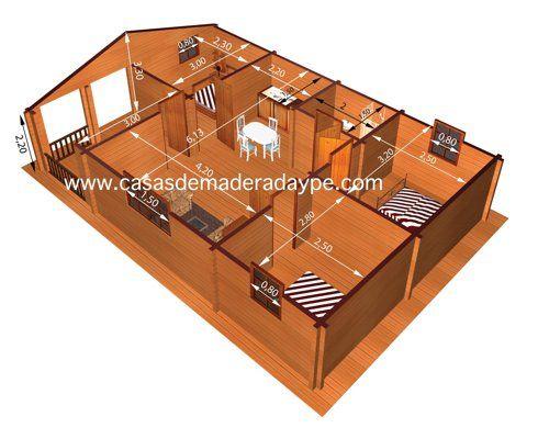 En mostramos los - Planos de casas de madera gratis ...