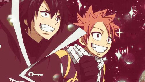 Gray and Natsu:3