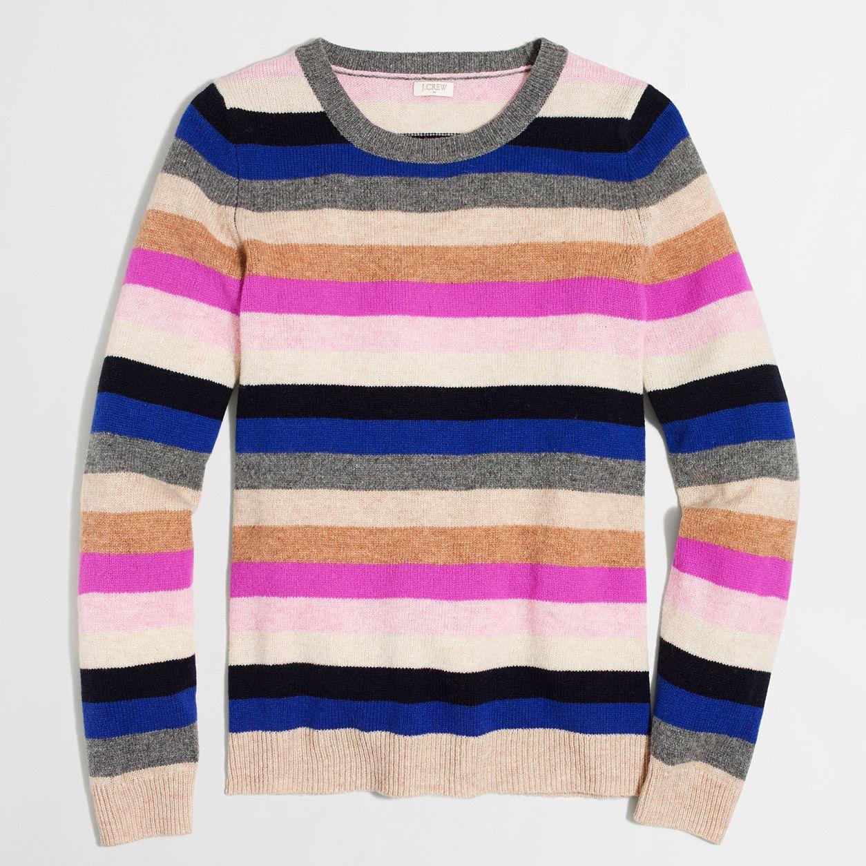 Striped Teddie Sweater Sweaterscapescardigans Pinterest