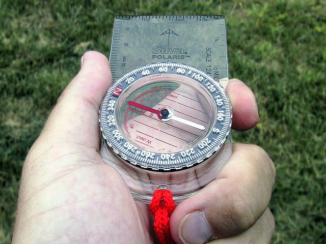 Using a Compass - Step 3 by Brian's Backpacking Blog, via Flickr