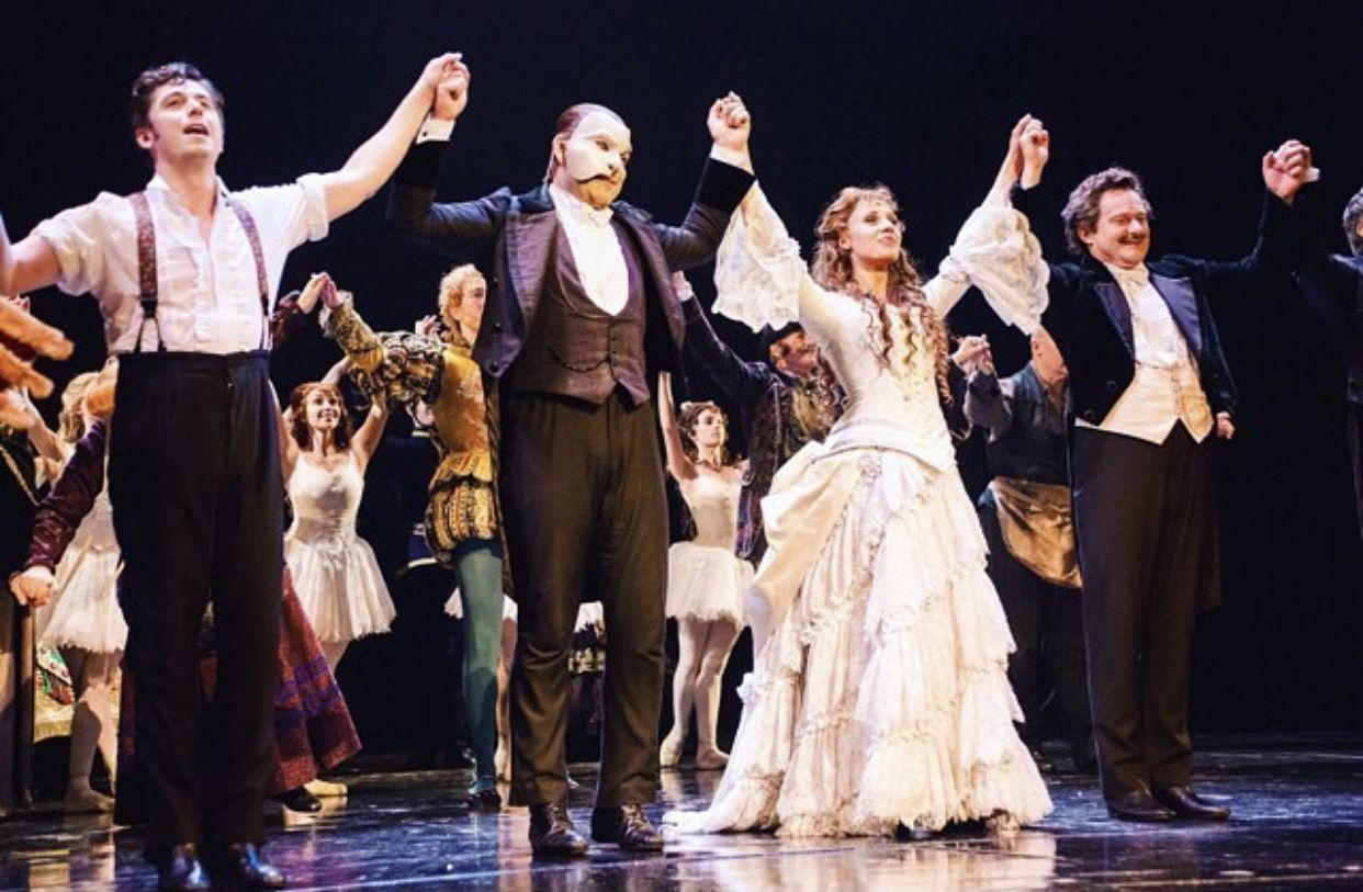 West End Curtain Call Phantom Of The Opera Curtain Call