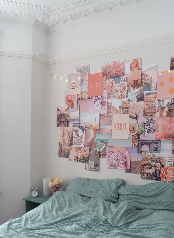 Pink Aesthetic Wall Collage