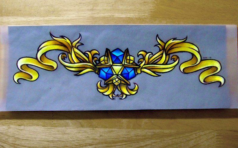Amazing Zora's Sapphire design (from Legend of Zelda: Ocarina of Time)