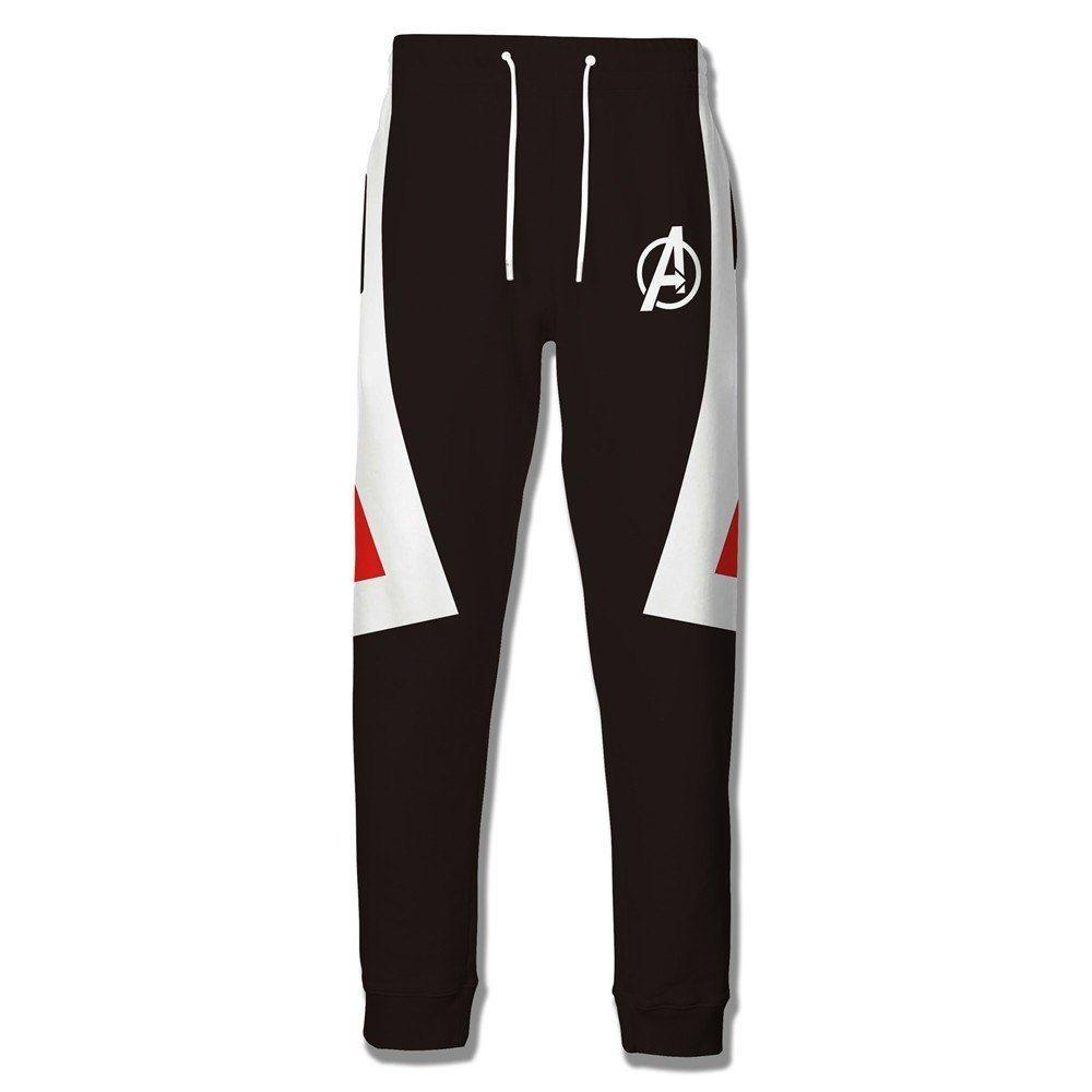 Avengers 4 Endgame Advanced Tech Pants Cosplay Men 3D Print Pants Sporty Trouses