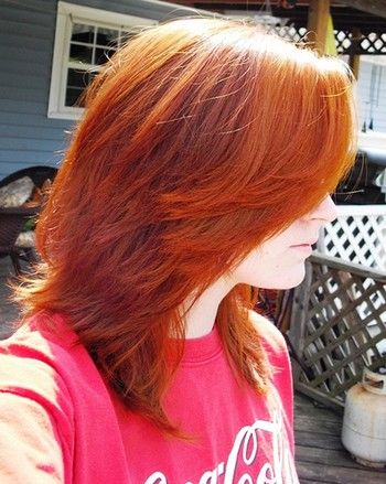 beet hair dye before and after - Google Search