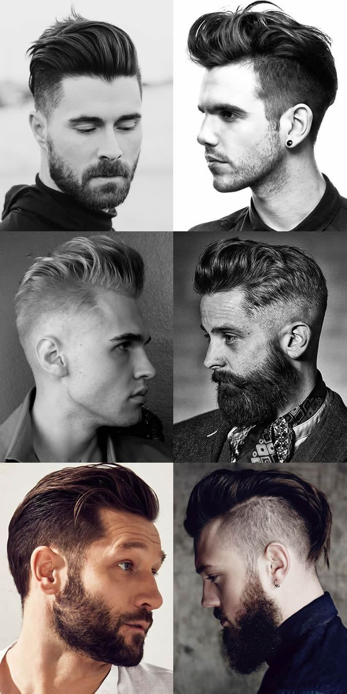 men's pompadour hairstyles 2018 in 2018 | men's hairstyles & beards