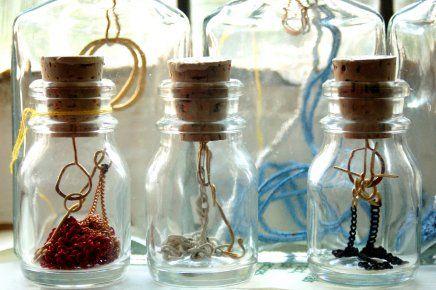 Glass Bottle Jewellery #packaging