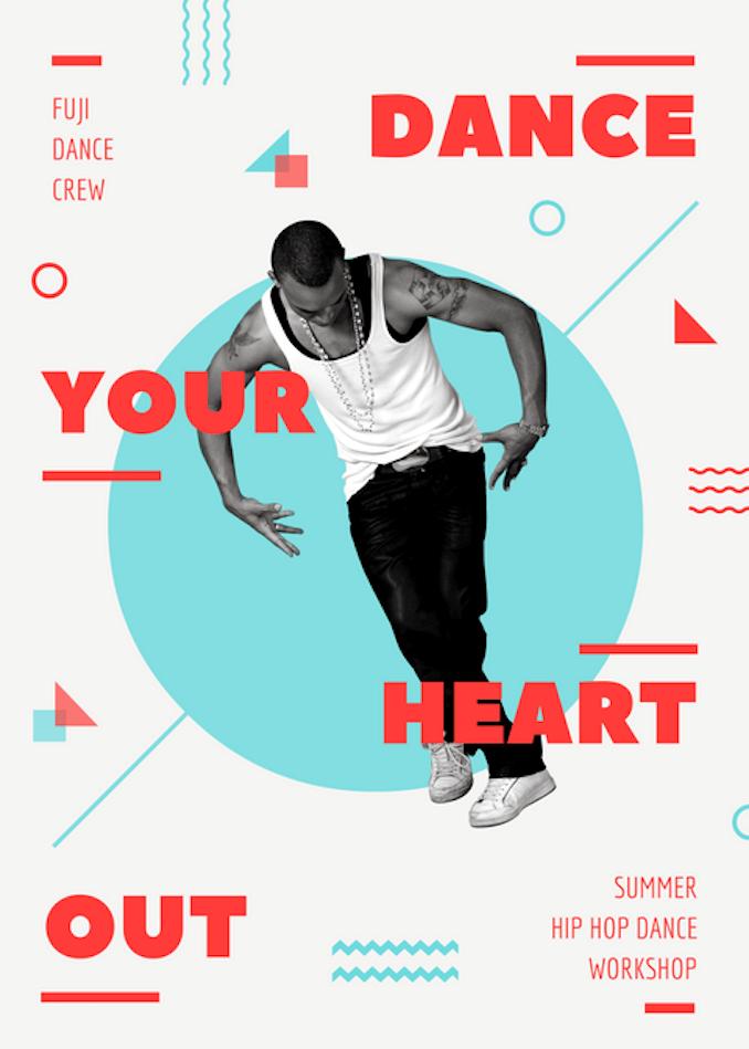 Danceflyerg 678949 Design Inspiration Pinterest