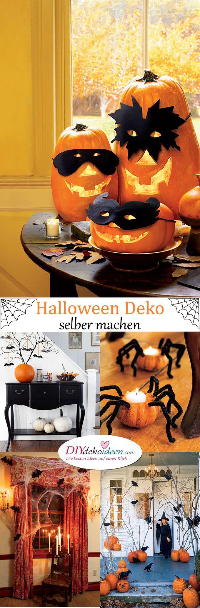 halloween deko selber machen f r eine gruselige party diy deko ideen halloween deko. Black Bedroom Furniture Sets. Home Design Ideas