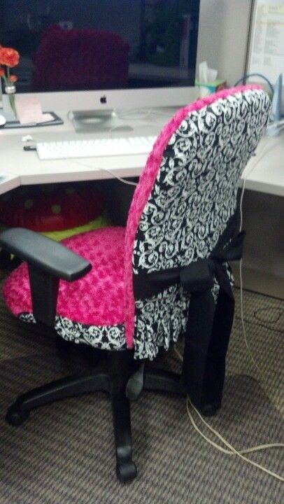 Desk Chair Cover Bedroom On Wheels Office Hidden Heat Pad What Why Have I Not Thought Of This Before