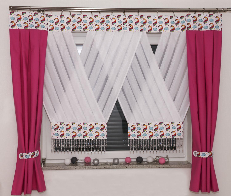 Firana Unicorn Curtains Home Decor Home