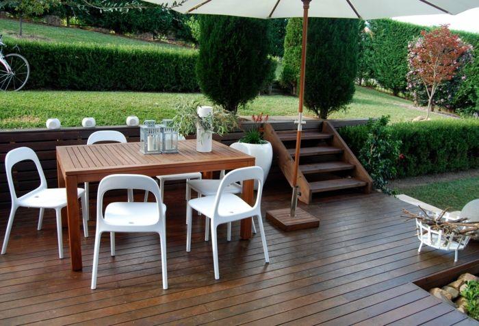 ikea gartenmöbel outdoor esstisch stühle weiß teakholz