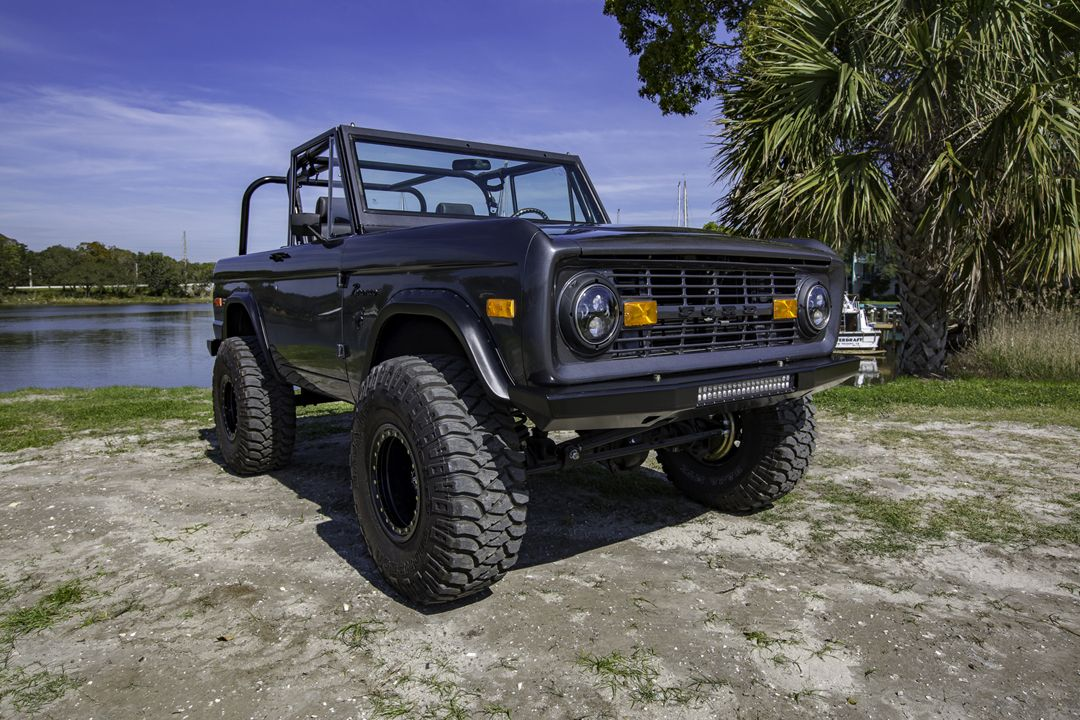 1967 Early Ford Bronco Half Cab Classic Ford Broncos For