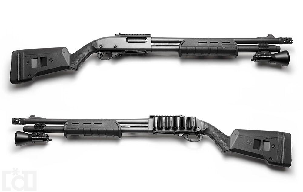 dhendrixphoto: Remington 870 Tactical+ magpul stock+ ...