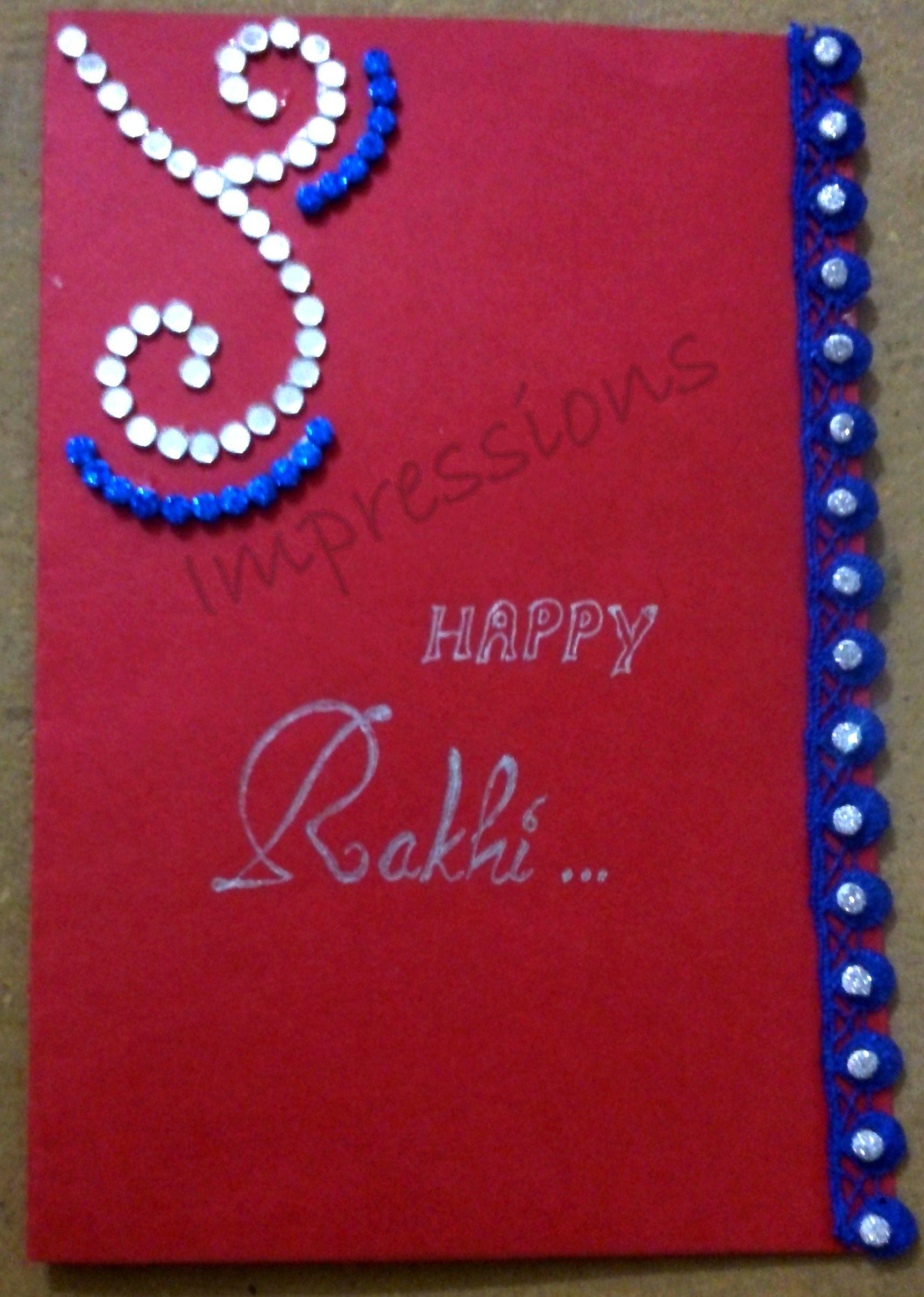 Rakhi Card Collections Pinterest Rakhi Cards Cards And Rakhi
