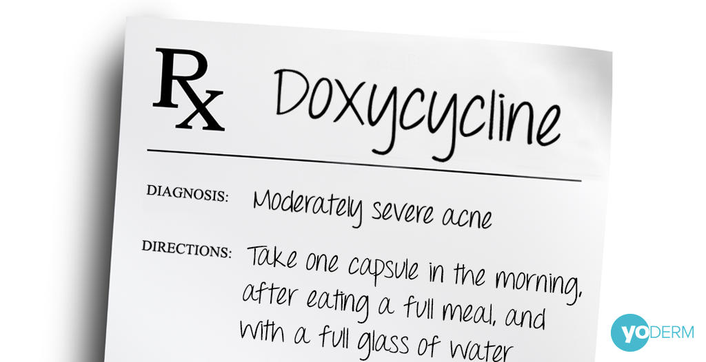 Doxycycline An Antibiotic For Acne Antibiotics For Acne Homemade Acne Treatment Oral Acne Medication