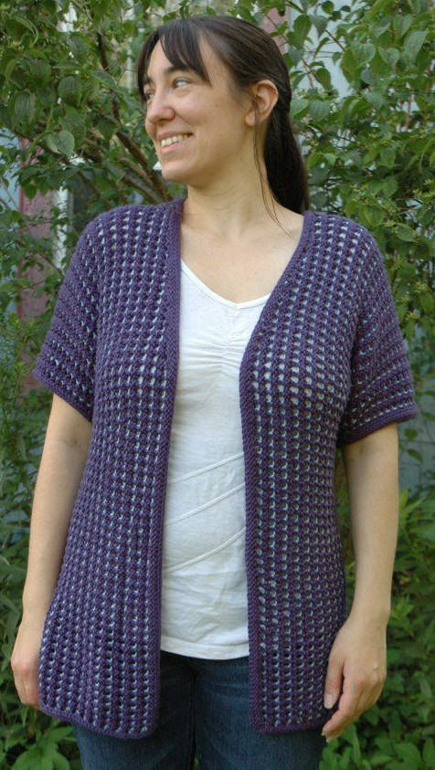 Simple Summer Cardigan Sweater Pattern Knit Cardigan