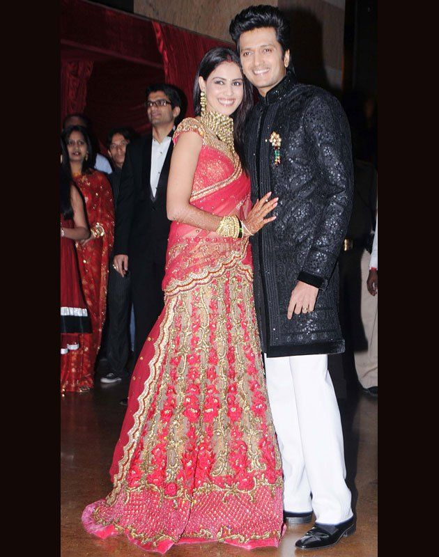 Genelia DSouza And Riteish Deshmukh Favorite Couple Loved