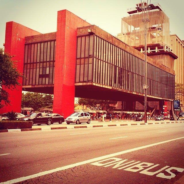 Sao Paulo Masp By Tony Maciel