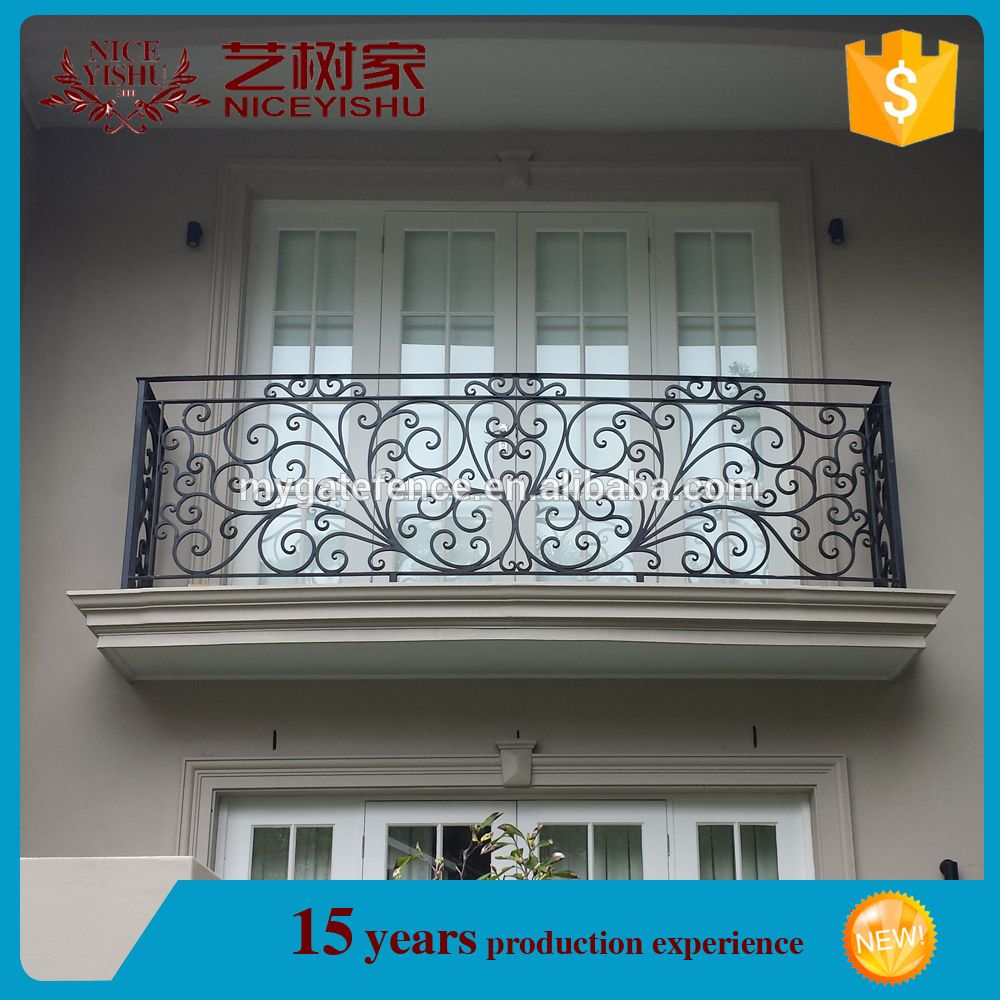 Alibaba Hot Sale Factory Customized Used Safety Wrought Iron