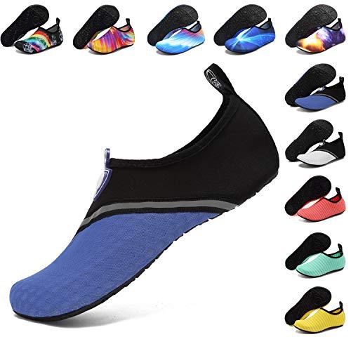 Women Men Quick-Dry Water Shoes Barefoot Swim Yoga Beach Slip On Aqua Shoes Surf