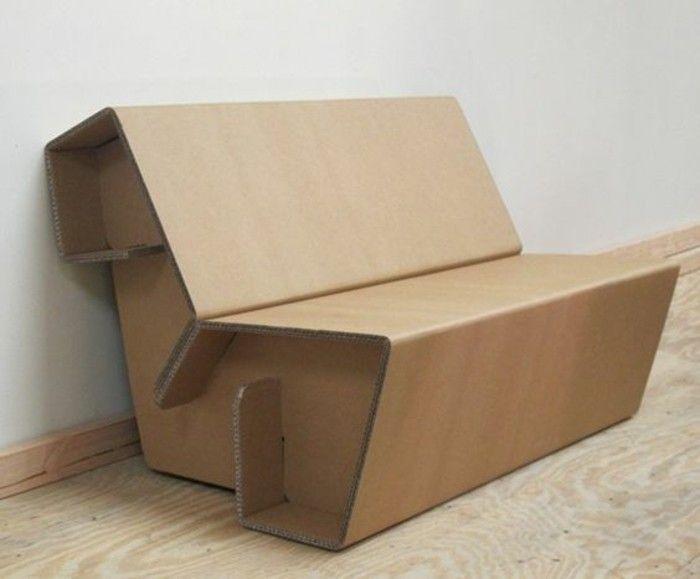 Exceptionnel Meuble en carton - 60 idées que vous pouvez réaliser vous-mêmes  LV36