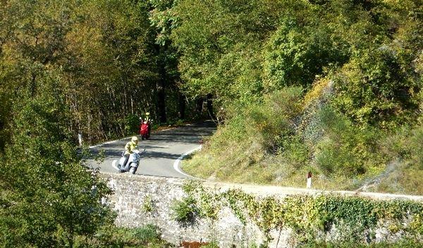 La Toscana en motoneta. (2TU) Italia.  #LaToscana #Italia #DESTINO #MOTOCICLO