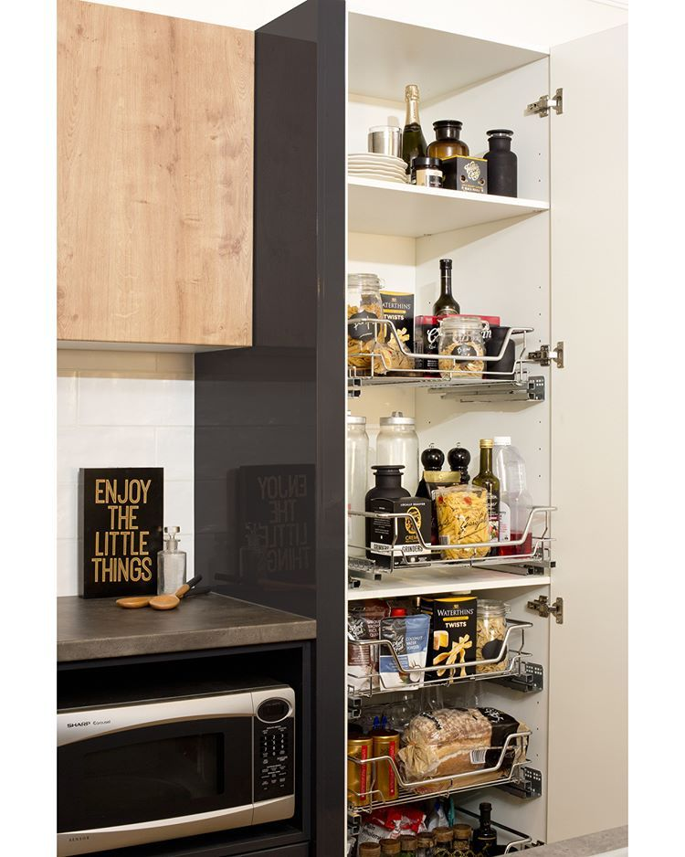 pantries are a must for most homeowners but they can sometimes fall victim to mess never fear on kaboodle kitchen storage id=66098